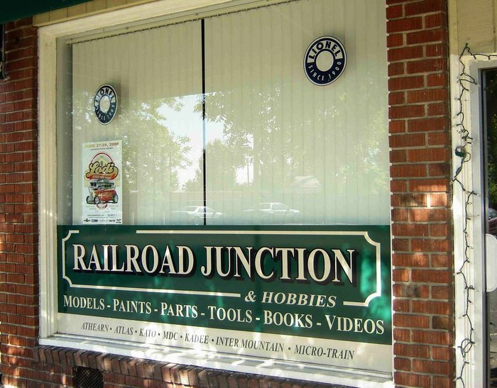 Roger's Railroad Junction