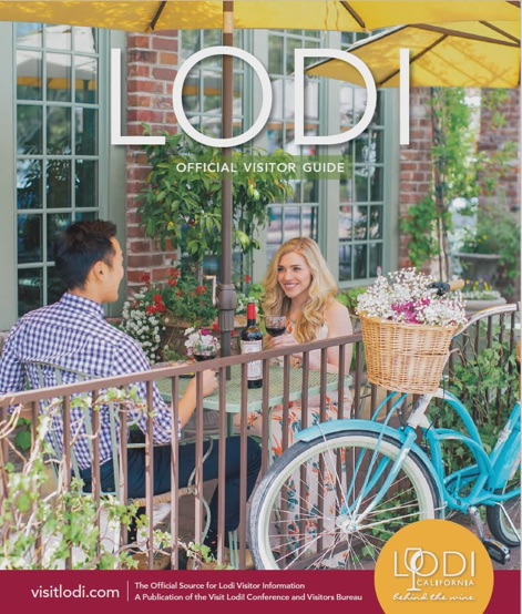Lodi Visitor Guide Cover